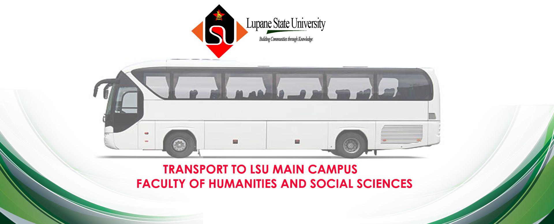 Student Transport to Lupane State University Main Campus